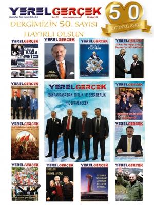 YEREL GERÇEK DERGİSİ 50