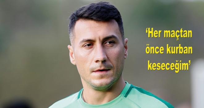 Atiker Konyasporlu Jahovic: Her maçtan önce kurban keseceğim