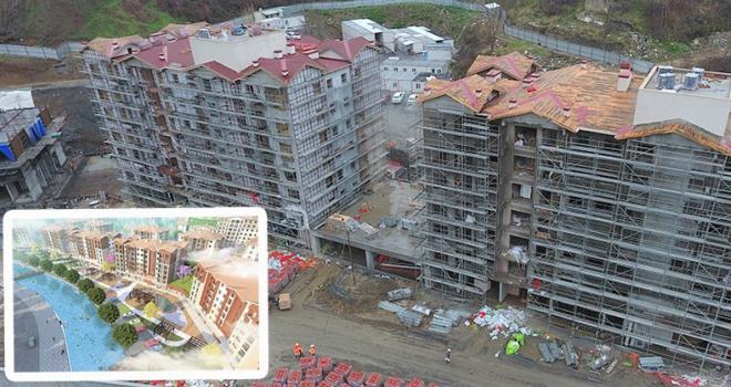 Kentsel dönüşüm Yıldıztabya'da hızla yükseliyor