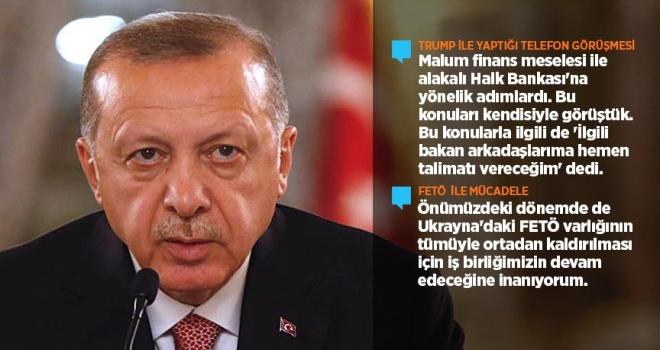 Cumhurbaşkanı Erdoğan: Hedefimiz Münbiçten terör örgütleri PYD/YPGnin çıkmasıdır