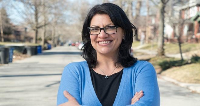 Michigan eyaletinden seçimleri kazanan Tlaib: Filistinli Müslüman olarak zafer kazanmak gurur verici