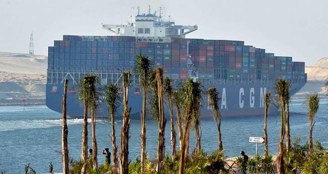 Mısır ekonomisinin 3üncü büyük döviz kaynağı: Süveyş Kanalı