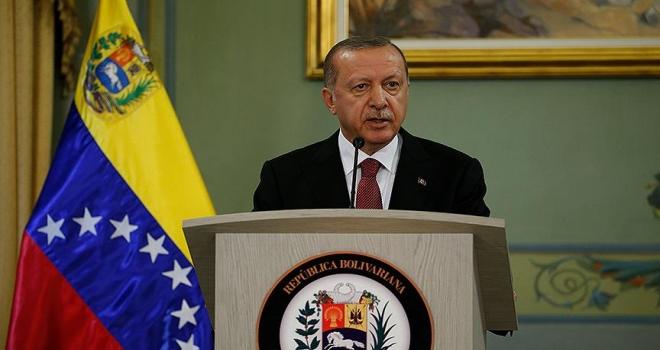 Cumhurbaşkanı Erdoğan: Venezuela'da 2 FETÖ okulu Maarif vakfına devredildi