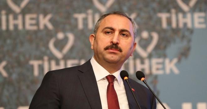Adalet Bakanı Abdulhamit Gül: Terör, insanın yaşama hakkına önemli bir tehdittir