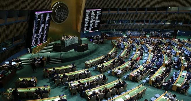BM Genel Kurulu, ABDnin Hamas tasarısını reddetti