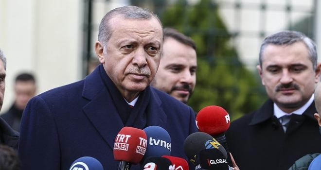 Cumhurbaşkanı Erdoğan: Bu hafta Sayın Bahçeli ile bir araya gelebiliriz