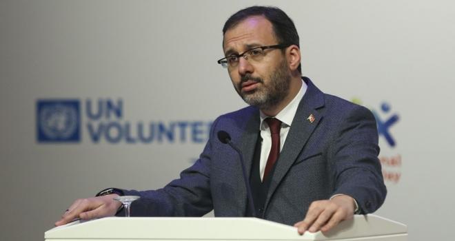 Gençlik ve Spor Bakanı Kasapoğlu: 2019 yılını Gönüllülük Yılı kabul ediyoruz