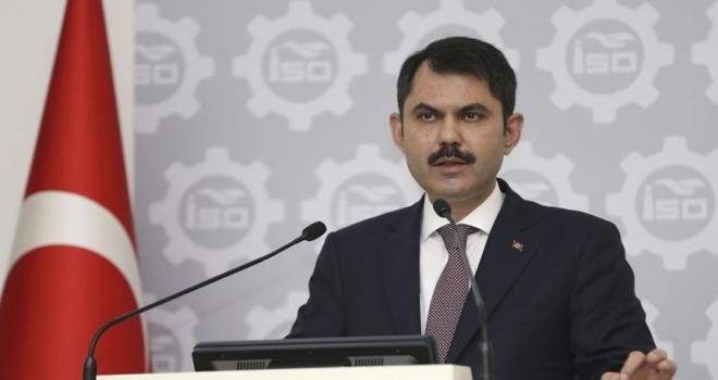 Çevre ve Şehircilik Bakanı Murat Kurum: İmar barışından 8 milyon 900 bin kişi yararlandı