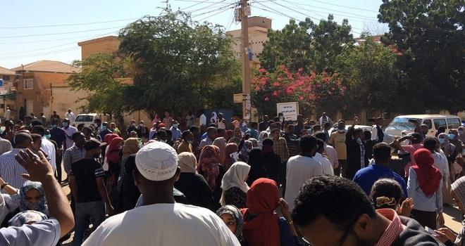 Hartum ve Kuzey Kurdufan'da rejim karşıtı gösteriler