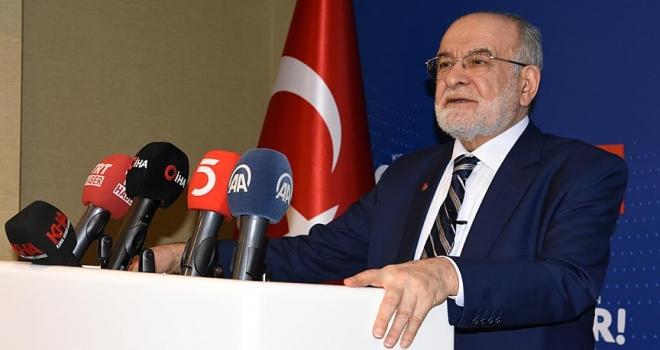 Saadet Partisi Genel Başkanı Karamollaoğlu: S400 bizim bağımsızlığımız için olmazsa olmaz şarttır