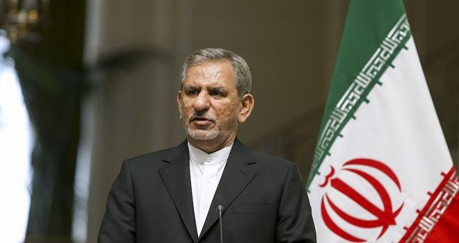 İran Cumhurbaşkanı Yardımcısı Cihangiri: ABD'nin amacı halkın rejimden ümidini kesmesidir