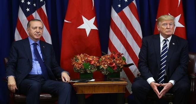 Erdoğan ile Trump görüştü