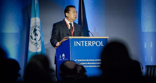 Eski Interpol Başkanının eşi Fransa'dan sığınma istedi
