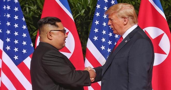 Trump ile Kim Jongun arasındaki ikinci zirve şubatta yapılacak