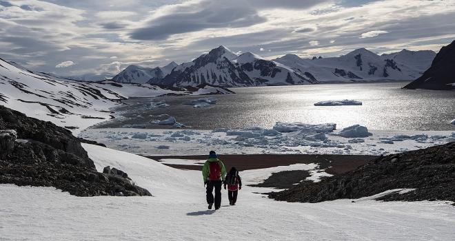 Antarktika'daki Türk ekibinin yabancı misafirleri