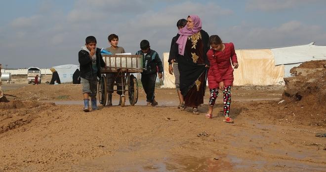 Irak'ta evlerine dönemeyen yarım milyon iç göçmen var