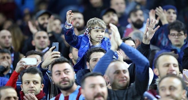 Trabzonspor'da seyirci rekoru kırıldı