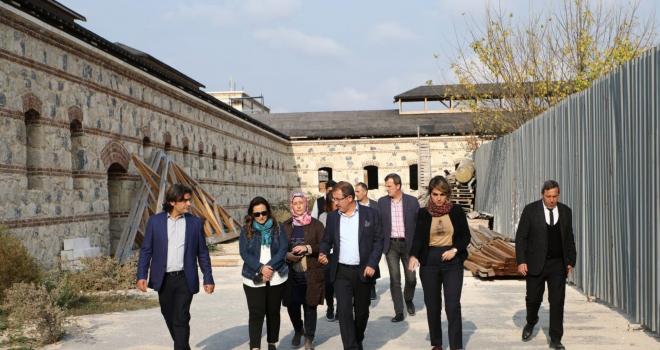 Rami Kışlası İstanbul'un gözbebeği olacak