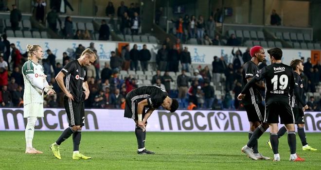 Beşiktaş savunmayı unuttu
