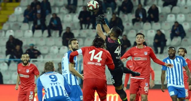 Büyükşehir Belediye Erzurumspor kupadan elendi