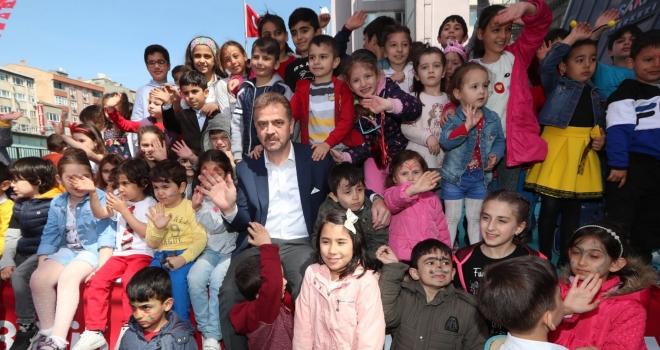 Gaziosmanpaşa'da 23 Nisan Kutlamaları