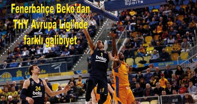 Fenerbahçe Beko'dan THY Avrupa Ligi'nde farklı galibiyet