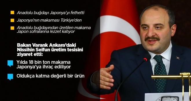 Ankara'dan Tokyo'ya makarna hattı