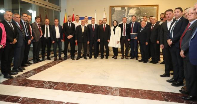 Makedon Belediye Başkanları Türkiye'deki belediyeciliği örnek alacak