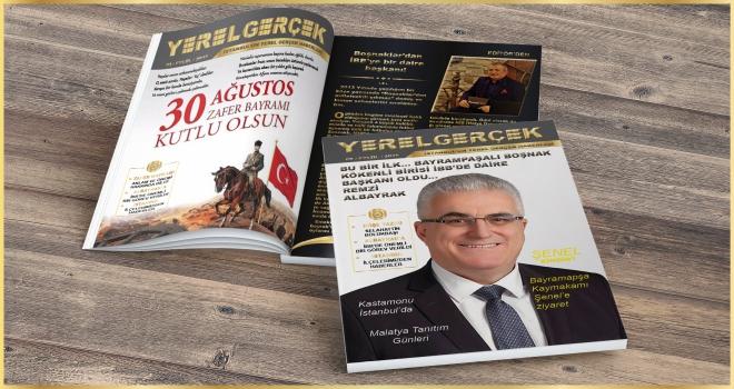 YEREL GERÇEK DERGİSİ 80. SAYISI YAYINLANDI