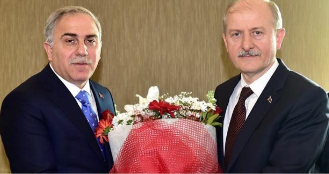 M. Ergün TURAN Belediye Başkanlığı Görevini Devraldı
