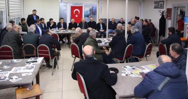Cumhur İttifakı'ndan Kartaltepe Spor Kulübü Derneği'ne ziyaret