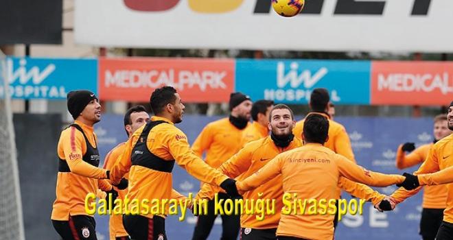 Galatasaray'ın konuğu Sivasspor