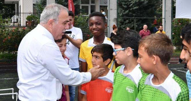 Fatihli Çocuklar Yaz Tatilini Sporla Değerlendiriyor…