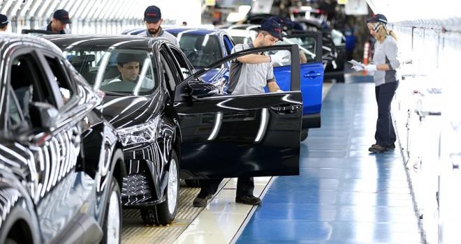 Sakarya'da üretilen her 5 araçtan 4'ü ihraç edildi