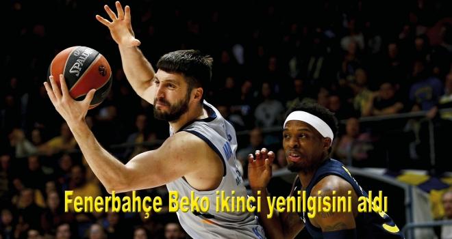 Fenerbahçe Beko ikinci yenilgisini aldı