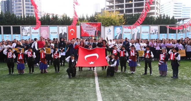 ÖĞRENCİLERDEN 'BARIŞ PINARI' MESAJI