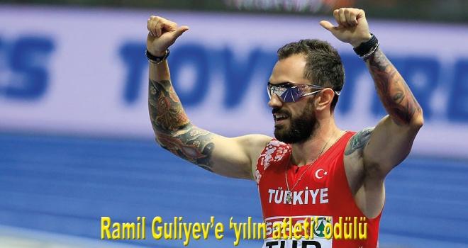 Ramil Guliyev'e 'yılın atleti' ödülü
