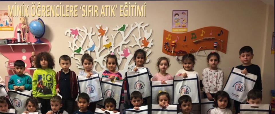 MİNİK ÖĞRENCİLERE 'SIFIR ATIK' EĞİTİMİ