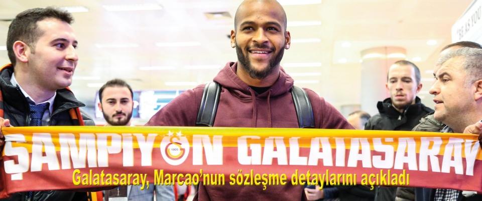 Galatasaray, Marcao'nun sözleşme detaylarını açıkladı