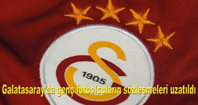 Galatasaray'da genç futbolcuların sözleşmeleri uzatıldı