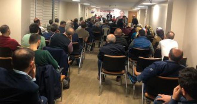 Ersin Başkan, sandık kurulu üyeleri ile biraraya geldi