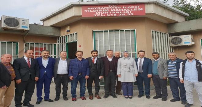 Ak Parti Genel Başkan Yardımcısı Dr. Sayan Kaya Bayrampaşa'da