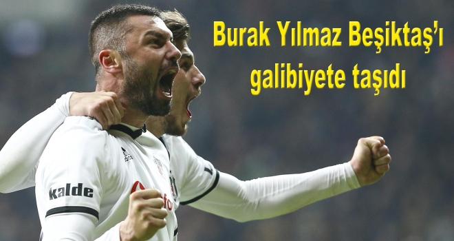Burak Yılmaz Beşiktaş'ı galibiyete taşıdı
