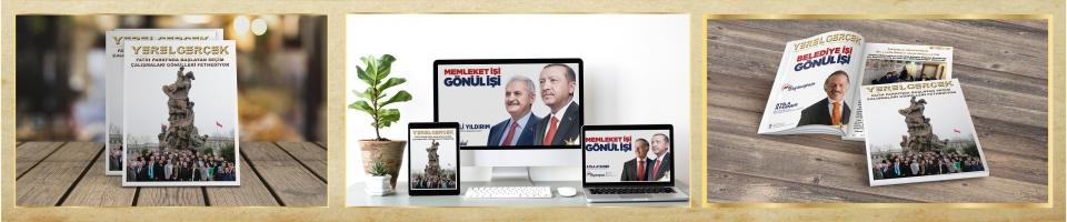 YEREL GERÇEK DERGİSİ'NİN 55. SAYISI YAYINLANDI