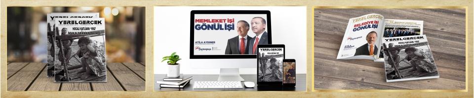 'YEREL GERÇEK' ADLI DERGİMİZİN 54. SAYISI YAYINLANDI